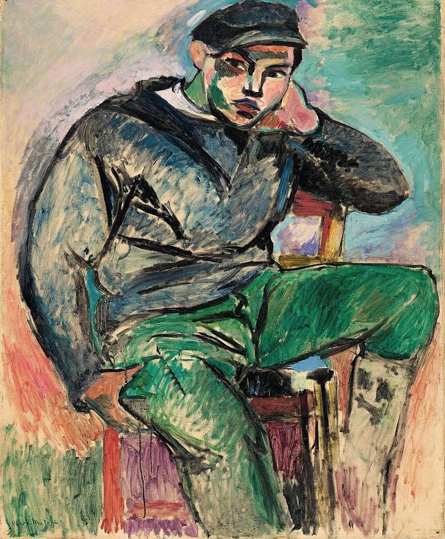 Young Sailor I_Henri Matisse